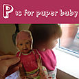 P is for paper baby