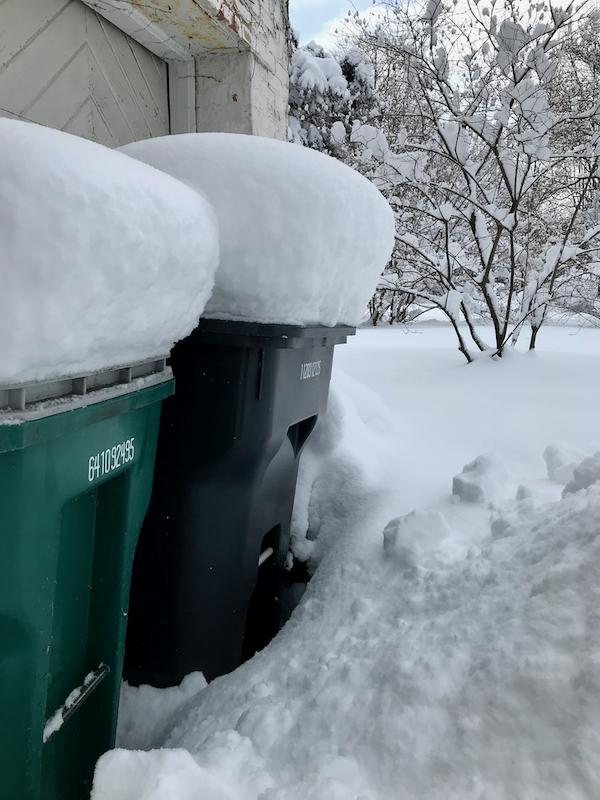 So much snow - 3